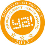 Nominee for World Youth Summit Award 2013